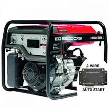honda eg5500cxs 5 5kva generator electric start with 2 wire