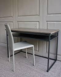 bureau contemporain bureau contemporain chene et metal bureau console haut de gamme