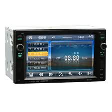 amazon com double din car stereo 6 2 inch touch screen rear