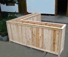 redwood and corrugated metal planter box for my daughter make