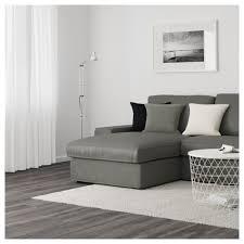 kivik corner sofa 6 seat with chaise longue borred grey green ikea
