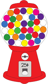 gumball clipart candy machine pencil and in color gumball