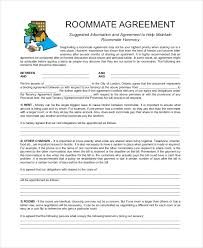 free roommate agreement template roommate agreement 12 free pdf word documents download free