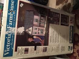 dollhouse miniatures victoria u0027s farmhouse kit mm 1065 u2022 249 00