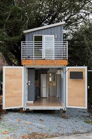 two story home two story shipping container tiny house for sale