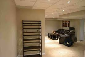 How To Install Pot Lights In Unfinished Basement Basement Ceiling Design Ideas Masters Trendy Unfinished Lighting