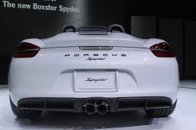 spyder porsche price new york 2015 2016 porsche boxster spyder debuts the truth