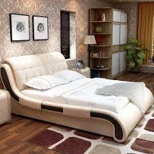 bedroom furniture sets modern bedroom furniture set modern leather bed 1 bed 2 night stand 1