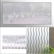 45x100cm privacy frosted window film sticker bathroom glass home