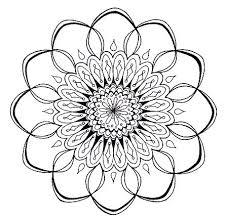 80 Best Mandala Images On Pinterest Mandalas Pointillism And Mandala Flowers Coloring Pages