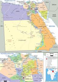 Map Of Egypt And Africa by Detailed Clear Large Map Of Arab Republic Of Egypt Ezilon Maps