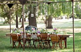 Outdoor Backyard Wedding The Everygirl U0027s Backyard Wedding The Everygirl