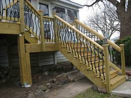 outdoor stair railing code professional staircase enhancements