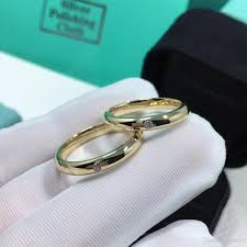 natural rings images 2018 factory 18k yellow real solid gold couple rings natural jpg