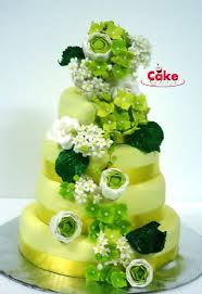 Wedding Cake Green Sights To Delight Whimsical Wedding Cakes