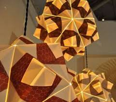 Paper Pendant Lighting Aria Pendant Lamps Creating Warm Diffuse Light Home Reviews