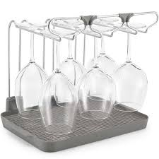 wine glass racks and stemware racks organize it