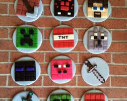 minecraft cupcakes minecraft cupcake etsy