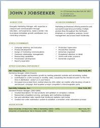 Free Download Resume Templates For Microsoft Word 2010 Free Resume Builder And Free Download Resume Template And