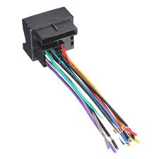 new car stereo cd radio player wire harness adapter for