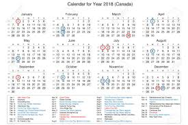 calendar of year 2018 with holidays and bank holidays for