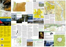 Oregon Road Map Oregon National Geographic Guide Map National Geographic Maps