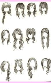 4 choppy medium hairstyles for different face shapes cartoon