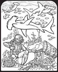 rocket underwater einsteins coloring pages kids