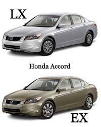 difference between honda civic lx and ex difference between honda accord lx and ex difference between