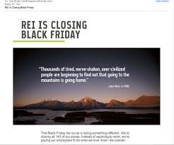rei thanksgiving how to live your brand beliefs active lifestyle brand rei