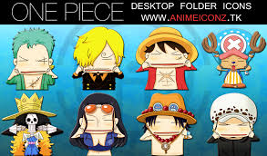 wallpaper animasi one piece bergerak one piece desktop folder icon animeiconz