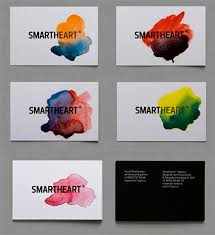 handmade watercolor cards an awesome collection of watercolor business cards naldz graphics