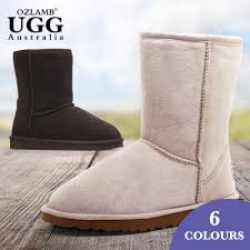 ugg boots half price sale ozlamb unisex 3 4 high sheep wool ugg boots buy sale