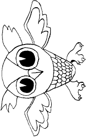owl coloring animals town animals color sheet owl free