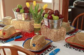 western cowboy themed table decorations ideas decolover net