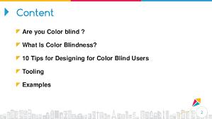 Color Blind Design How To Design For Colorblind User