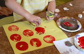 halloween fall apple stamp painting craft for kids art jpg