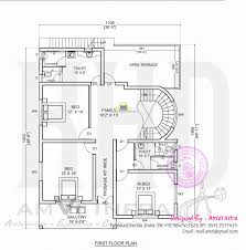 2 bedroom house plans kerala style asian 1000 sq feet 4 story