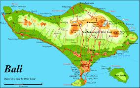 bali indonesia map bali indonesia