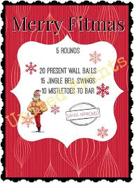 digital christmas cards merry christmas crossfit card fitness card printable