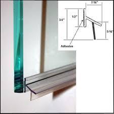 Shower Door Bottom Sweep With Drip Rail Shower Door Drip Rail W Vhb 33 Home