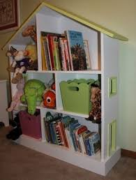How To Make A Dollhouse Out Of A Bookcase Childrens White Bookcase Foter