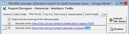 utilization report template generate a monthly average utilization report for peak business