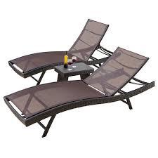 Chase Lounge Chairs Double Patio Chaise Lounge Chairs You U0027ll Love Wayfair