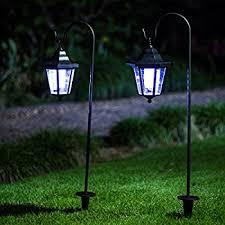 Solar Outdoor Lantern Lights - amazon com maggift lantern outdoor shepard path hanging solar