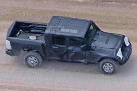 amc jeep truck jeep wrangler pickup spotted for the first time motor trend
