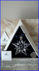 swarovski snowflake annual edition 2001 ornament