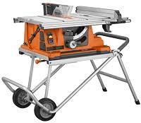 universal table saw stand with wheels ridgid ts2400ls portable table saw table saw on two wheeled work