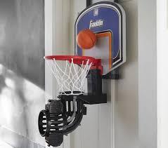 Basketball Room Decor Electric Basketball Hoop Pottery Barn Kids