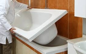 rimozione vasca da bagno una nuova vasca in modo facile e semplice tassonedil
